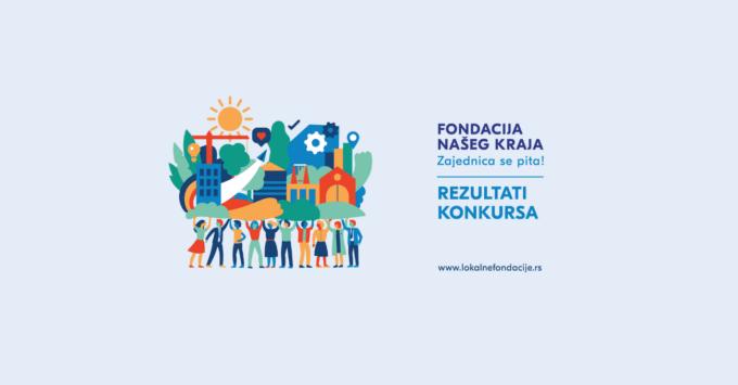 """Objavljeni rezultati konkursa za program """"Fondacija našeg kraja"""" u Srbiji!"""