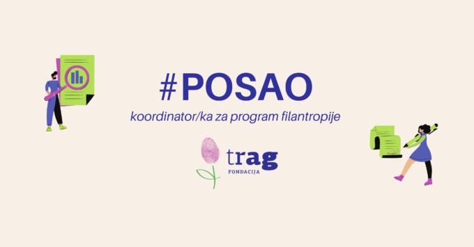 Otvoren konkurs za poziciju koordinator/ka za program filantropije